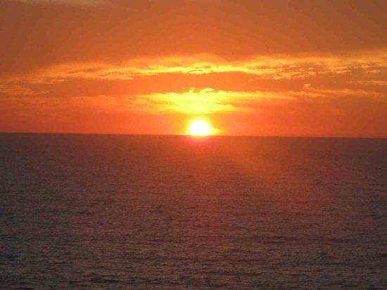 Ocean Breeze Nuevo Vallarta:                   Sunset viewed from room