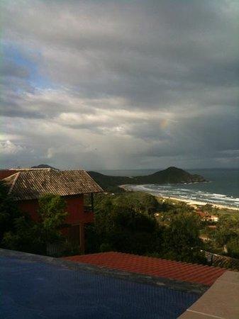 Praia do Rosa, vista da Posada Remora