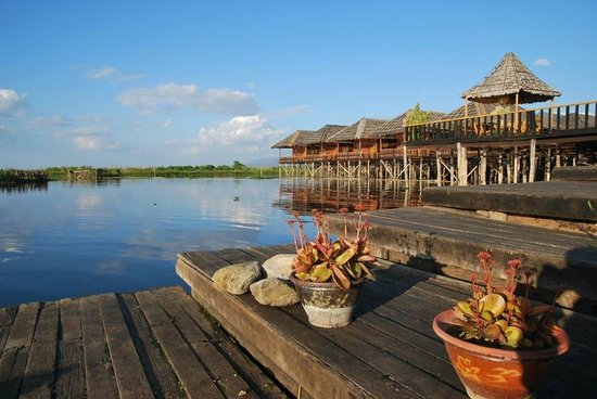 The high life – seeing Inle Lake from above | The Myanmar ...