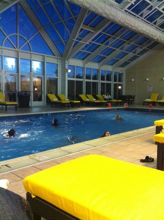 Bushkill Inn & Conference Center:                   Gorgeous Indoor Pool Area at Bushkill Inn