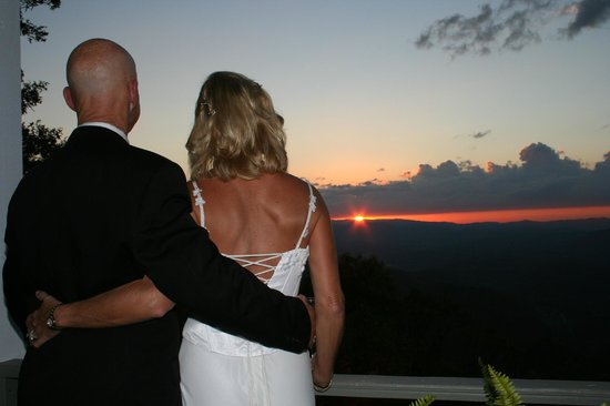 Gracehill Bed & Breakfast:                   A perfect sunset on our wedding!