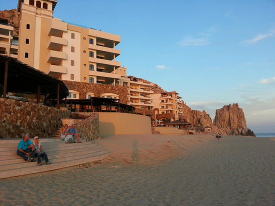 Grand Solmar Land's End Resort & Spa:                   Grand Solmar from beach