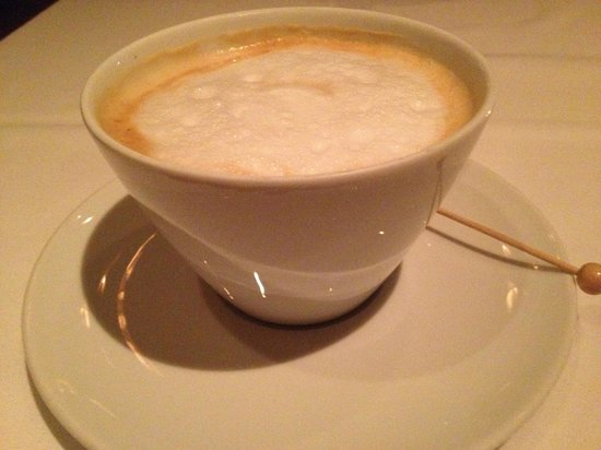 Peller Estates Winery Restaurant:                   My latte