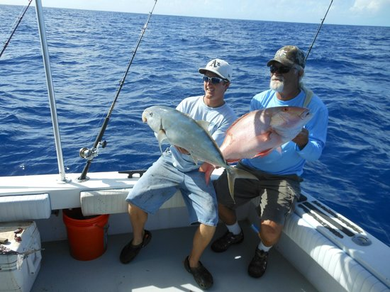 Key West Fishing Connection - Private Charters:                   Mutton snapper & yellow jack