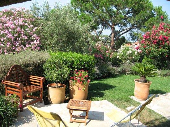 Le Mas Samarcande: Jardin