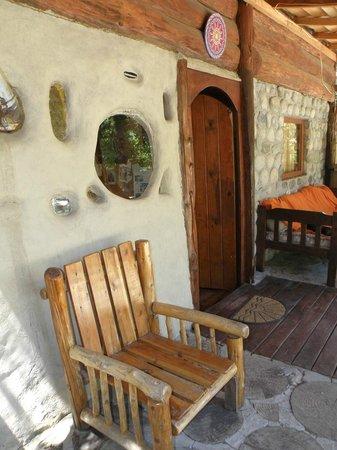 La Casa del Viajero: Acceso a cabaña 1