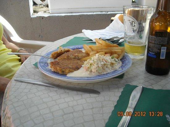 """Captain's Table: """"hamburger"""" di granchio"""