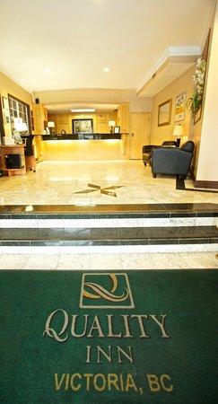 Quality Inn Downtown Inner Harbour: Lobby