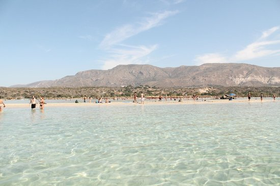 Porto Platanias Beach Resort & Spa:                   Nicer beach - 30 mins drive down the west coast
