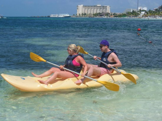 Occidental Costa Cancun:                   canoeing facilities
