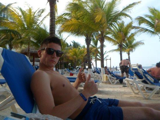Barcelo Costa Cancun:                   beach