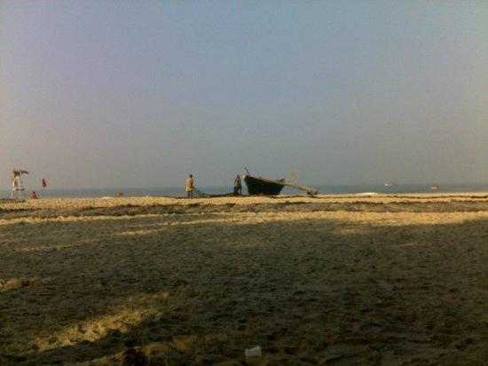 Furtado's Beach House:                   На рассвете интересно наблюдать за рыбаками