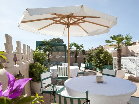 Riad du Rabbin : Roof Terrace Lounge/Bar/Diner