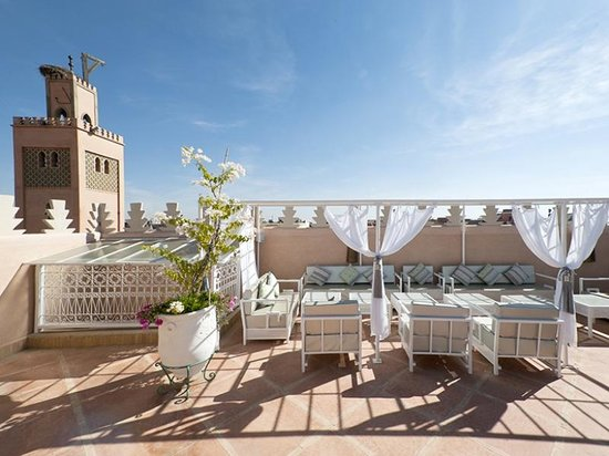 Riad du Rabbin : City and Palace view Terrace