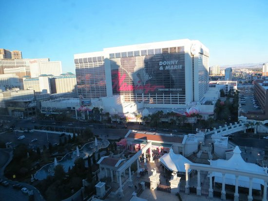 Caesars Palace:                   view right