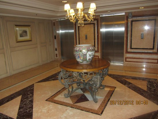 Park Tower, A Luxury Collection Hotel, Buenos Aires: Flur