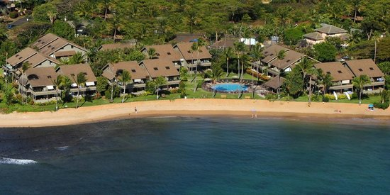 Kahana Village's Beautiful Property From Above!