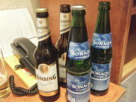Hotel Zeil: welcome drinks