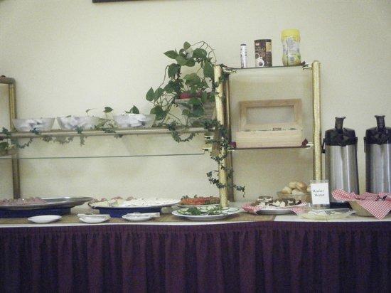 Hotel Zeil: breakfast buffet