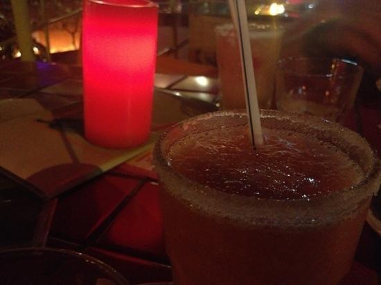 Mona's Tex-Mex Restaurant:                   guava margaritas