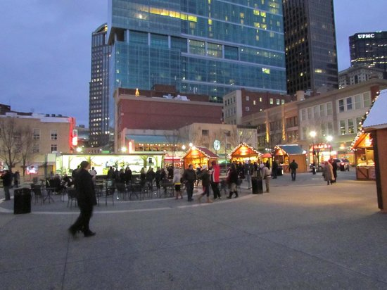 Market Square at Christmas time - December 22, 2012