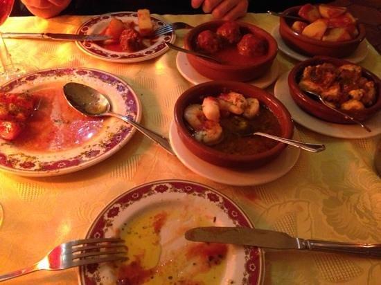 Tapas Spanish Restaurante: Tastiest Tapas!