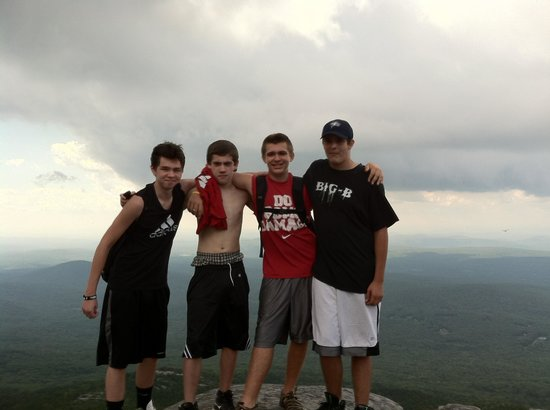 Mount Monadnock State Park:                   The gang Sept 1st 2012