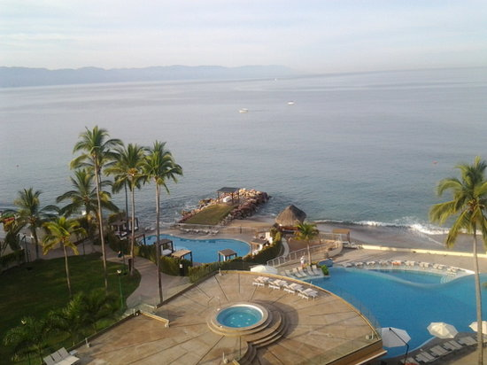 Sunset Plaza Beach Resort & Spa : vue du balcon