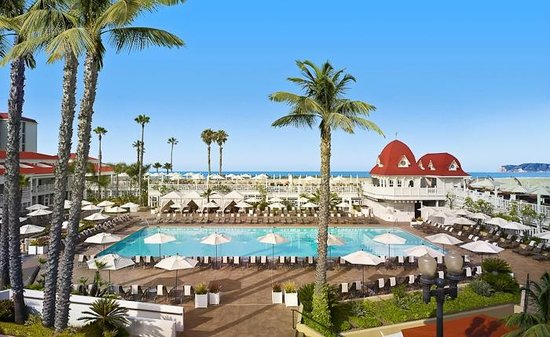 Hotel del Coronado: Main Pool
