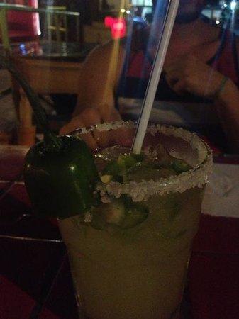 Mona's Tex-Mex Restaurant:                   jalapeño margarita es muy buena