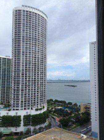 Hilton Miami Downtown: vistão!