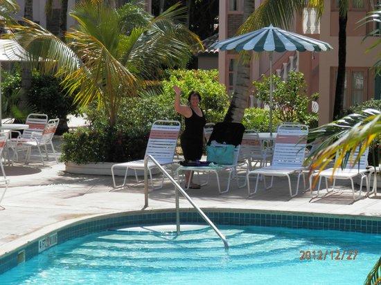 Caribbean Palm Village Resort: Pool Side