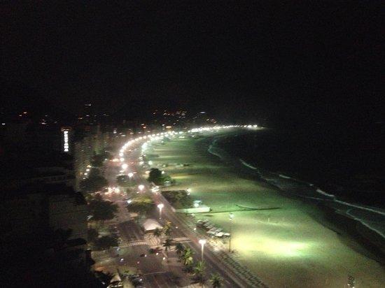 Rio Othon Palace Hotel: vista noturna