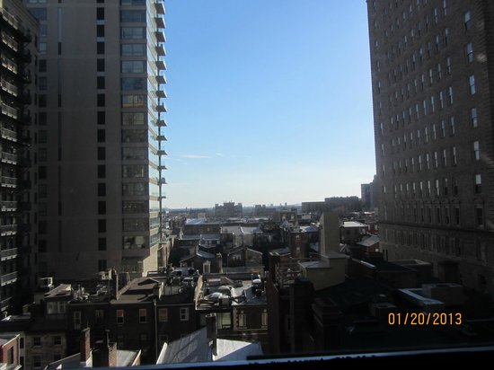 The Warwick Hotel Rittenhouse Square: View from our room on the 7th floor