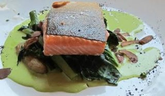 The Lazy Ox Canteen : artic char