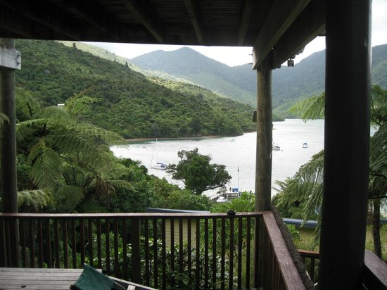 Punga Cove Resort:                   View of the Sound