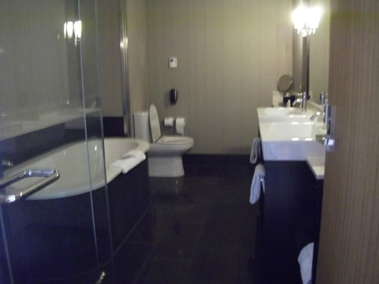 DoubleTree by Hilton Hotel Queenstown: bathroom