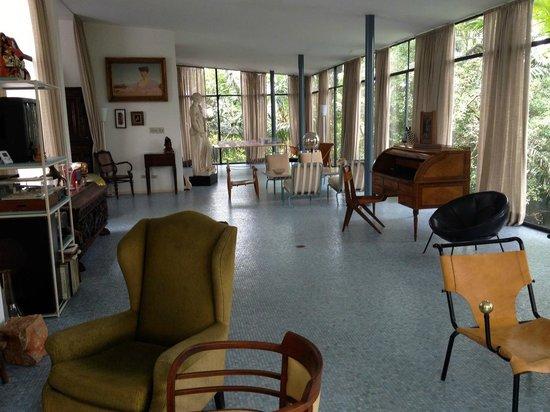 The Glass House: loft inside the house