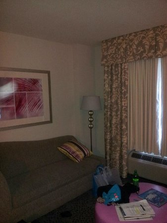 Hampton Inn & Suites by Hilton - Miami/Brickell-Downtown:                   CHAISE LOUNGE IN SUITE