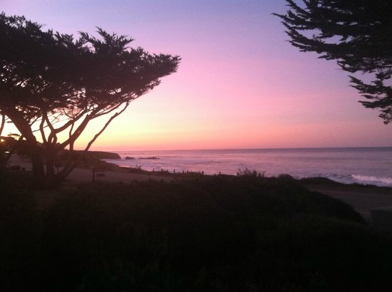 Cambria Landing Inn & Suites:                   view from boardwalk