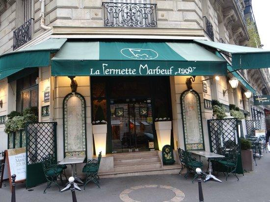 La Fermette Marbeuf: Main entrance