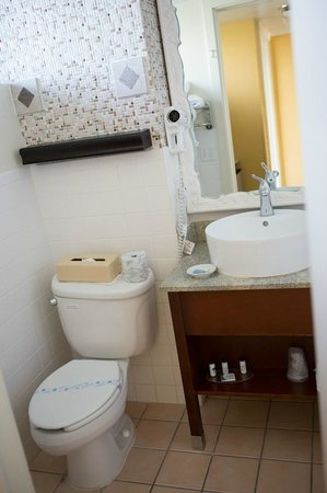BEST WESTERN PLUS Yacht Harbor Inn: Standard room bathroom