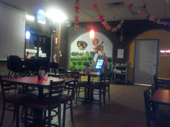 Veracruz Mexican Restaurant:                   a lonely night at Veracruz