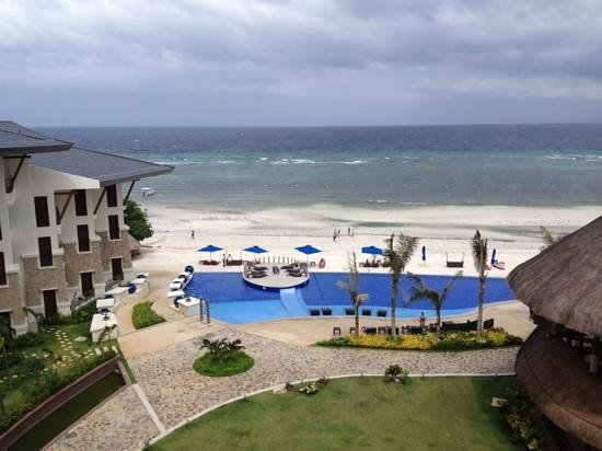 The Bellevue Resort Bohol: view from room 640