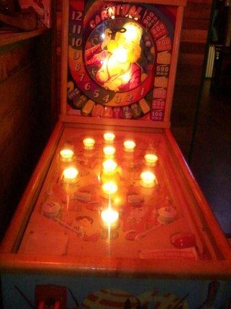 Sparky's Garage:                   Pinball Machine Sparky's
