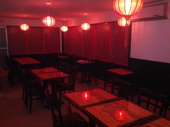 Wok N Roll Chinese Restaurant & Bar: The Fan Room's intimate evening setting