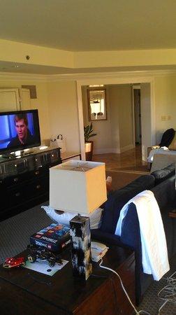 La Cantera Resort & Spa:                   living area