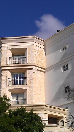 La Cantera Resort & Spa:                   outer view of step out balcony (middle window)