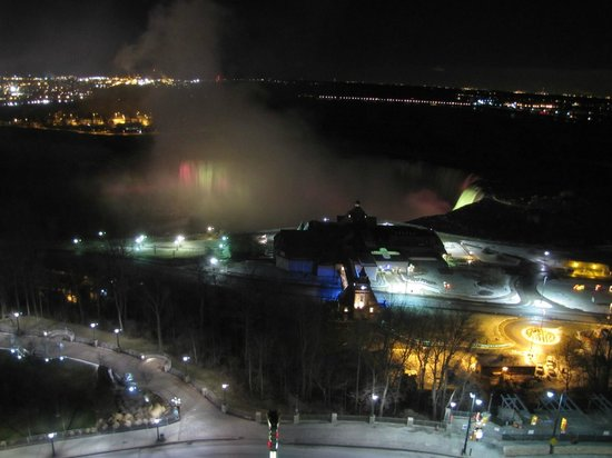 Oakes Hotel Overlooking the Falls:                   Niagara Falls (Horseshoe )