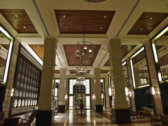 The Danna Langkawi: Rather grand reception area.